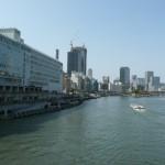 徒歩5分の大川に架かる天満橋(周辺)