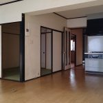 LDKと和室(キッチン)
