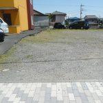 隣接敷地の借上げ駐車場(外観)