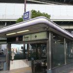現地徒歩10分の地下鉄平野駅(周辺)